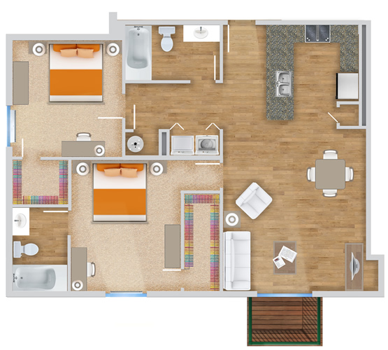 Village Crossing Apartments: The Village At The Crossings